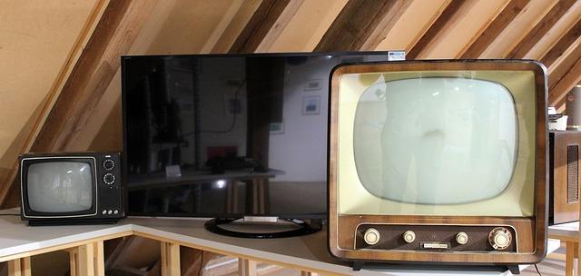 staré televizory