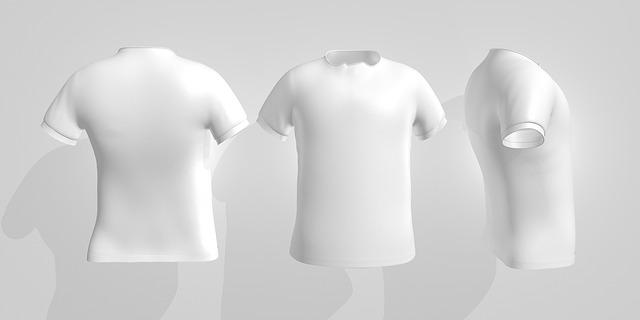 bílá trička