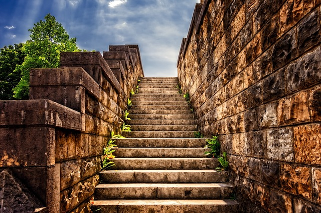 schody z kamene