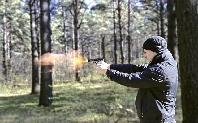 Muž střelec