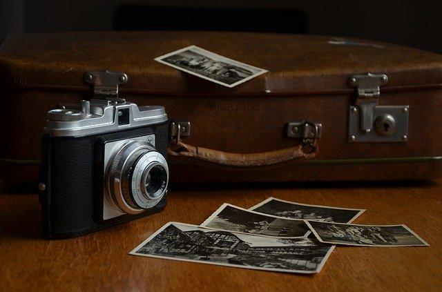 foťák, černobílé fotografie