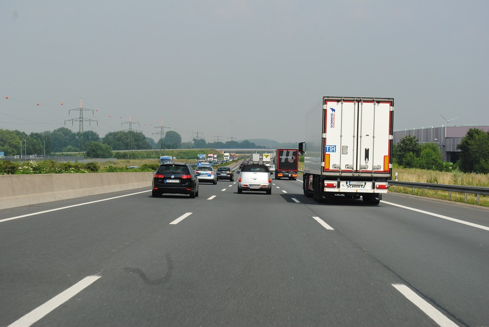 jízda po dálnici