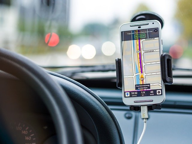 navigace v aute